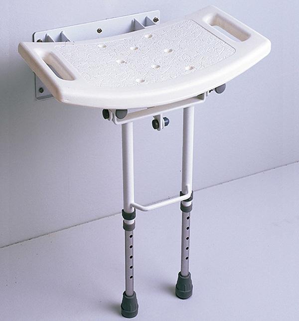 Asiento de ducha abatible con patas antidex - Asiento ducha abatible ...