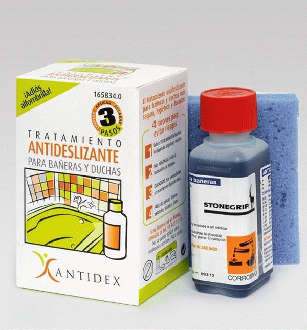 L quido antideslizante para ba eras y duchas antidex for Antideslizante banera